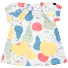 Polarn O. Pyret Baby Girls Fruit Print Dress
