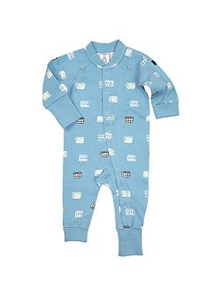 Babies Bus Print All-in-one