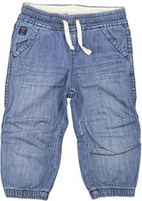 Polarn O. Pyret Baby Denim Cuffed Shorts