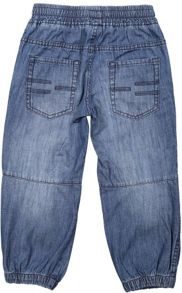 Polarn O. Pyret Kids Denim Cuffed Shorts
