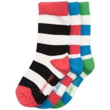 Polarn O. Pyret Babies Block Stripe Socks