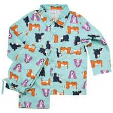 Polarn O. Pyret Kids Dog Print Pyjamas