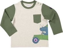Polarn O. Pyret Baby Safari Print Top