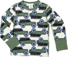 Polarn O. Pyret Baby Boys Jeep Print Top