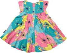 Polarn O. Pyret Baby Girls Floral Print Dress