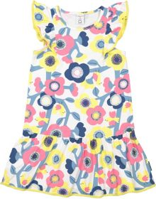 Polarn O. Pyret Girls Frill Dress