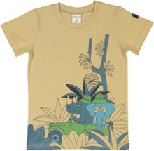 Polarn O. Pyret Kids Cotton Printed T-Shirt