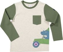Polarn O. Pyret Kids Safari Print Top