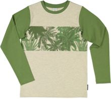 Polarn O. Pyret Boys Palm Tree Print Top