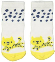 Polarn O. Pyret Baby Animal Print Socks