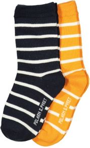 Polarn O. Pyret Baby Striped Socks
