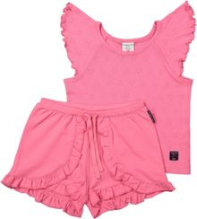 Polarn O. Pyret Girls Pink Pyjama Set
