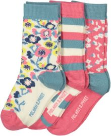 Polarn O. Pyret Girls Floral Socks