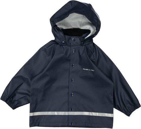 Polarn O. Pyret Kids Navy Rain Coat