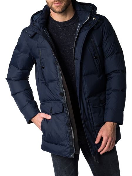 Marc O'Polo Down parka with detachable hood