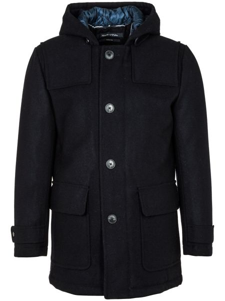 Marc O'Polo Duffle coat in pure new wool