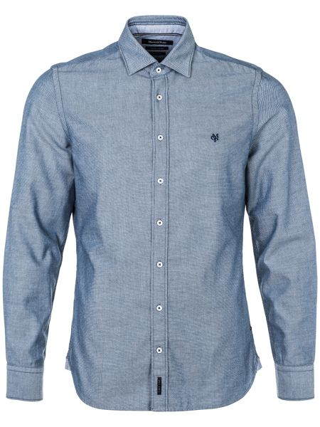 Marc O'Polo Long-sleeve shirt in shaped fit