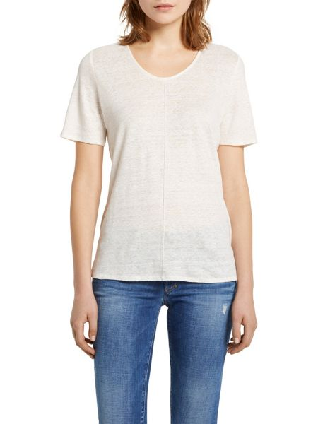 Marc O'Polo T-Shirt Linen Blend