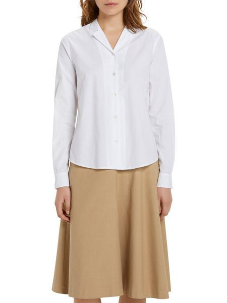 Marc O'Polo Long-Sleeved Blouse In Poplin
