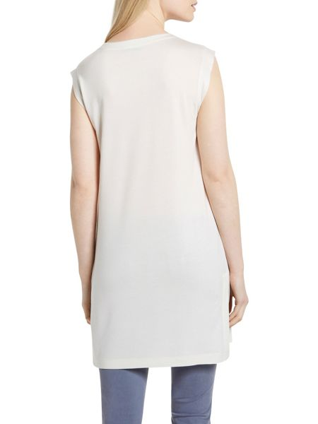 Marc O'Polo Jersey Tunic In Soft Viscose