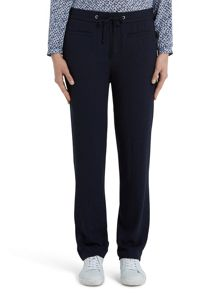 Marc O'Polo Asa Crepe Trousers In Pure Viscose