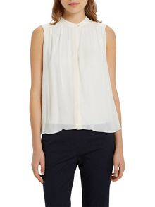 Marc O'Polo Blouse Top In Pure Viscose