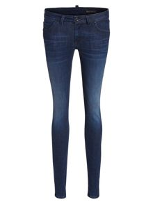 Marc O'Polo Skara Slim Jeans In Deep Sea Stretch