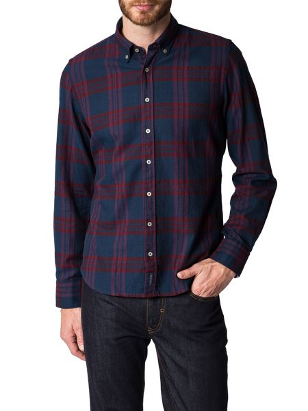 Marc O'Polo Long-sleeved shirt in cosy flannel