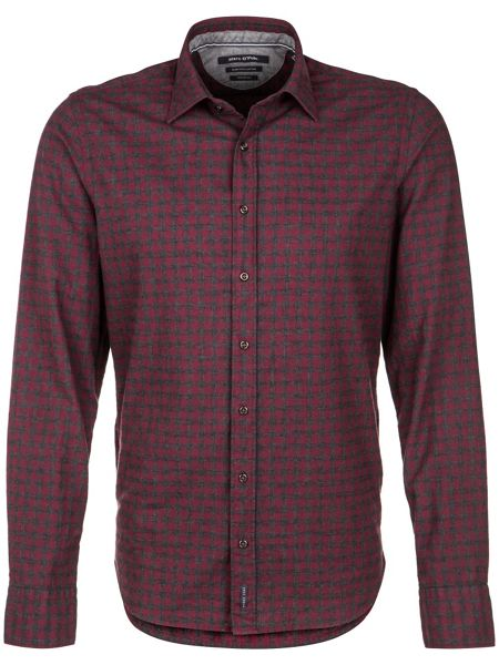 Marc O'Polo Long-sleeved shirt in cosy cotton