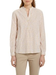 Marc O'Polo Tunic Blouse In Poplin