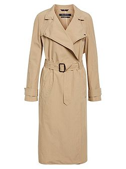 Trench Coat In Classic Style