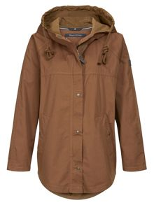 Marc O'Polo Cape Parka In Cotton-Mix