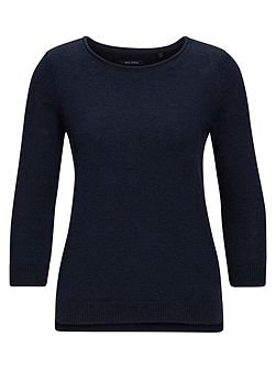 Sweater Cotton-Linen Blend