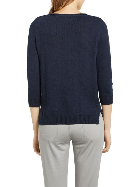 Marc O'Polo Sweater Cotton-Linen Blend