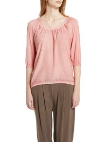 Marc O'Polo Blouse Top Viscose-Silk Mix
