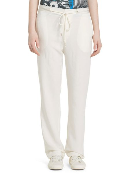 Marc O'Polo Trousers In Viscose-Linen Mix
