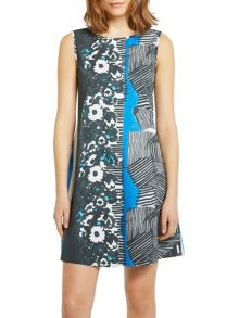 Marc O'Polo A-Line Dress In Cotton Twill