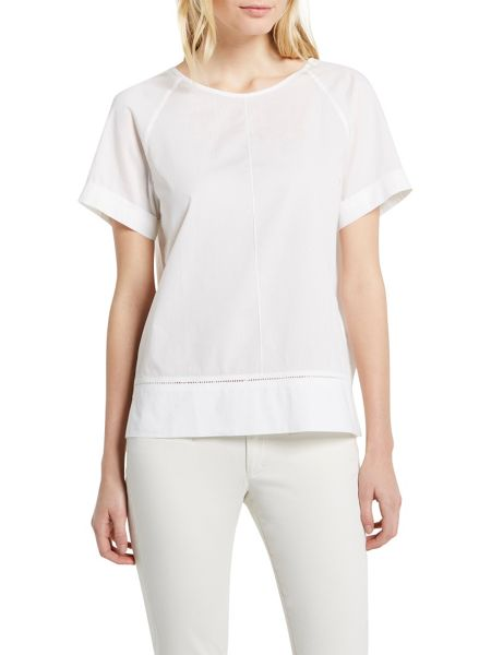 Marc O'Polo Shirt-Blouse In Soft Poplin