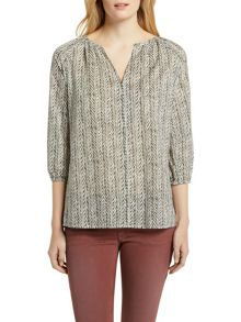 Marc O'Polo Tunic Blouse Pure Organic Cotton