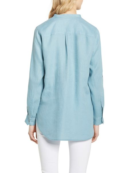 Marc O'Polo Blouse In Pure Linen