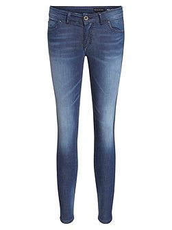 Skara Cropped Jeans In Cotton Blend