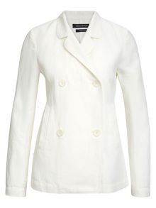 Marc O'Polo Blazer In Cotton-Linen Blend