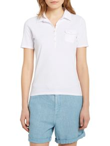 Marc O'Polo Polo Shirt In Single Jersey