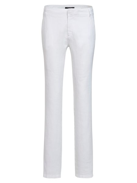 Marc O'Polo Nivå Cloth Trousers In Pure Linen