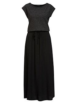Dress In Material Mix