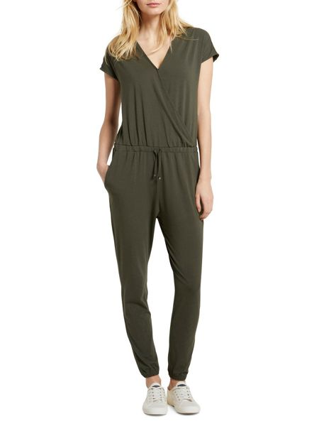 Marc O'Polo Jumpsuit Wrap-Around-Look Top