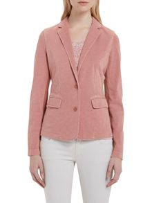 Marc O'Polo Jersey Blazer In Pure Cotton