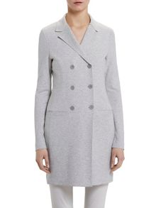 Marc O'Polo Jersey Coat In Cotton-Mix