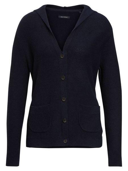 Marc O'Polo Knit Cardigan With Hood