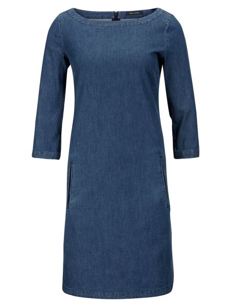 Marc O'Polo Dress In Indigo Stretch